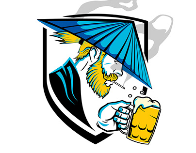 Game squad logo RONAR (Ronins)