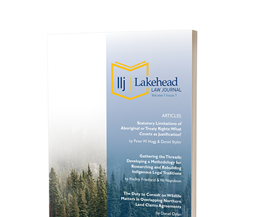 Lakehead Law Journal