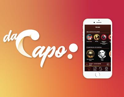 [APP DESIGN - UI/UX] DaCapo App