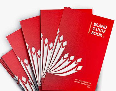 Brand Identity & Guide Book | Canada 150th Anniversary
