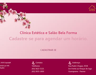 Clínica Estética web