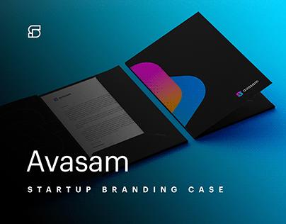 Avasam - branding for UK dropshipping startup