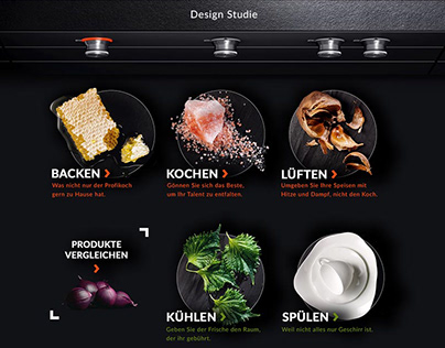 Gaggenau // UI // Web // Corporate // Concept