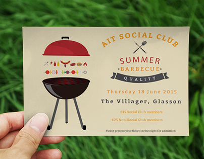 AIT Social Club BBQ Invite
