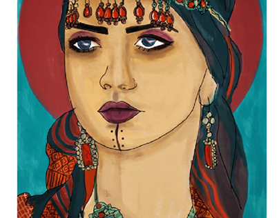 Amazigh women portrait