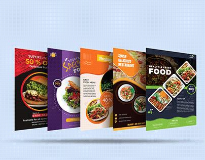 Eye Catchy Food Flyer Bundle