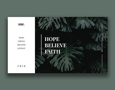 HBF UI Design Concept