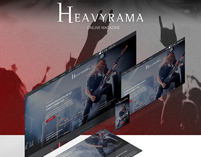 Heavyrama - Online Magazine