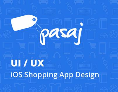 Pasaj - iOS Shopping App Design