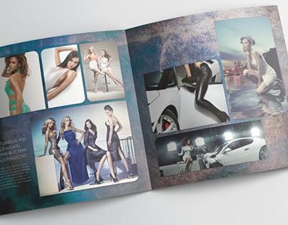 Fashion Photobook Template - 30x30cm