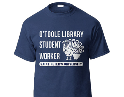 O'Toole Library Student Worker T-Shirt