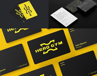 Hero Gym Brand Identity