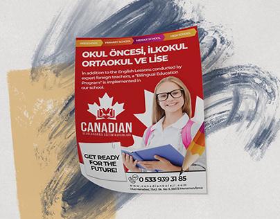 Kanada Okulları Tanıtım Broşürü A4