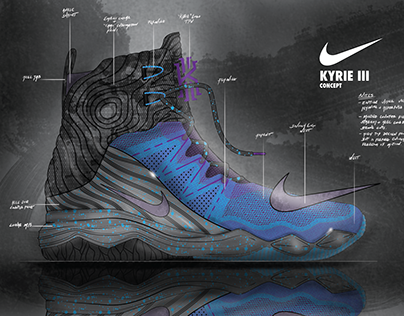 Nike Kyrie Iii Concept On Behance