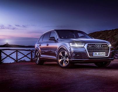 Audi | Q7 | location post-production