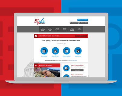 MyVote - Branding and Responsive Website