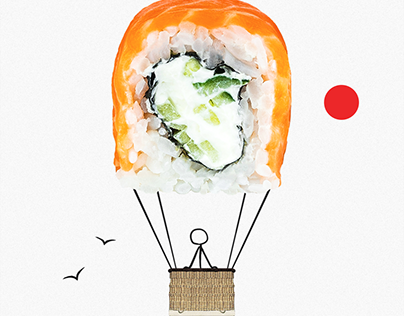 Social Media 2021 - Sushi Online by Smart Web