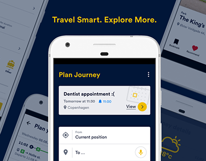 UX/UI: Travel Planner App unofficial redesign