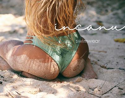 Logo for an ecological swimwear brand