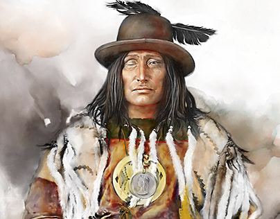 """Chief Bull Head"", 2019"