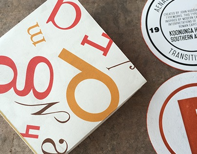 Tipsy Typography   Coasters