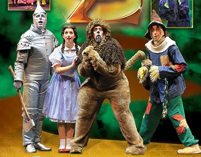 Dutch Apple Dinner Theatre: Wizard of Oz Direct Mail