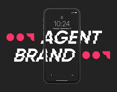 """Logotype for """"Brand Agent 007"""""""