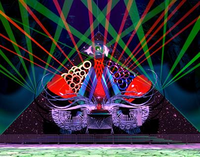 3-D Concept Stage