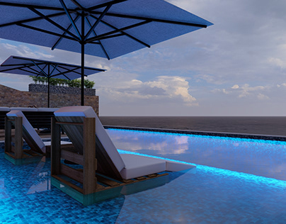 swimming pool For Villa