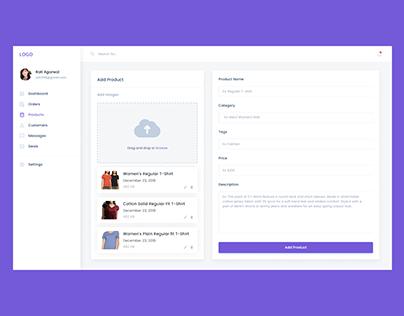 eCommerce- Admin Panel
