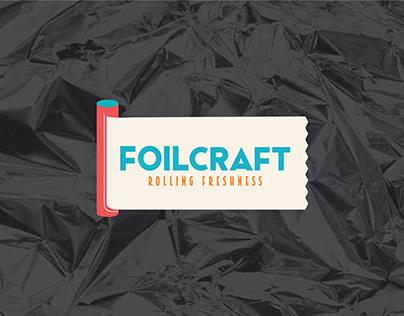 Logo ,Packaging & Website Design - FOILCRAFT