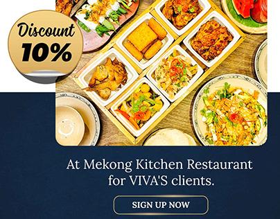 Southwest region cuisine in Saigon for viva's clients