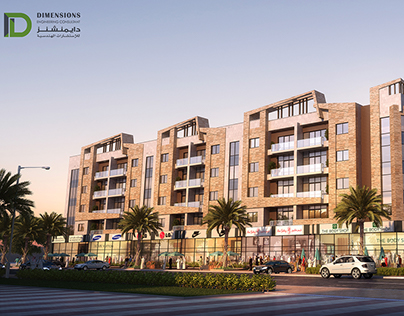 Commercial-Residential Building(B+G+4F+P)