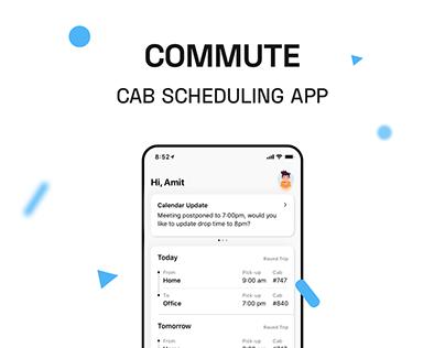 Commute - Office Cab App