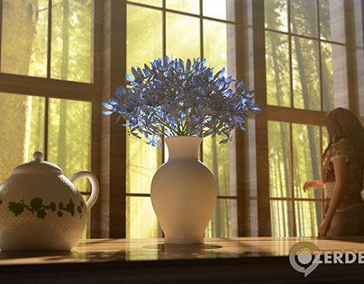Everything Blue - Light Training in 3DS Max