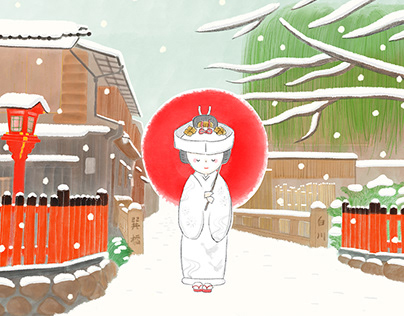 Kyoto Illustrations