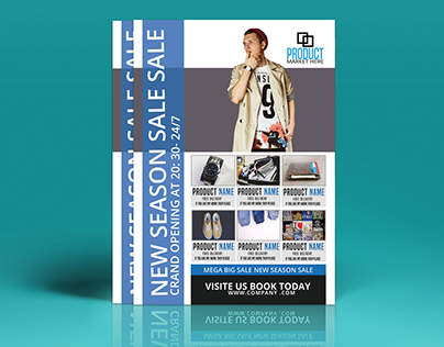 Fashion And Product Flyer