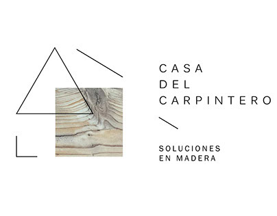 Casa del carpintero - Rebranding Proyect.