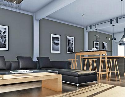 Diseño de interiores-Vivienda Unifamiliar