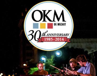OK Mozart International Festival Website Redesign