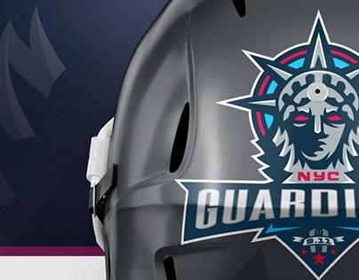 XFL NY Guardians Rebranding Concept