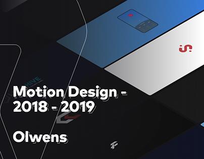 Motion Design - 2018-2019
