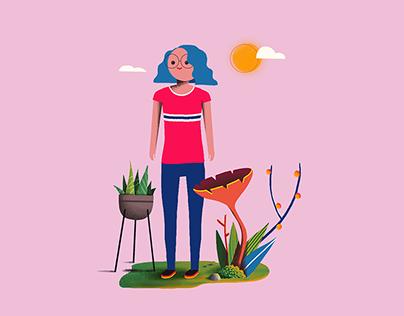 Character Illustrations // Fundación MAPFRE