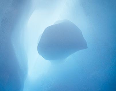 Antarctica - Blue
