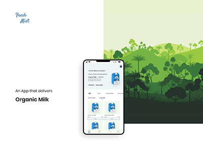 Fresh Mist - Organic Milk Delivery App