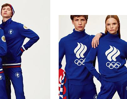 for ZASPORT. PyeongChang Olimpic Games 2018.