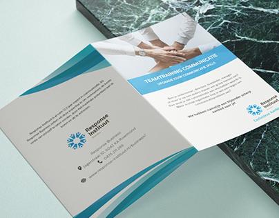 Bi Fold Brochure for Corporate Client