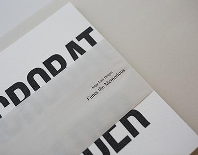 Acrobat Reader. Funes the Memorious
