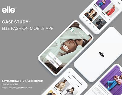 elle | Fashion e-commerce Mobile App