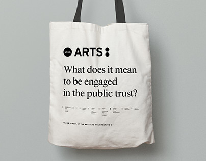 UCLA School of the Arts Brand Identity and Guidelines